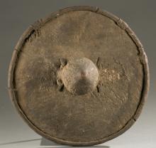 Ehtiopian hide shiled, 20th century.