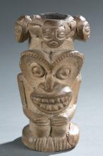 Terracotta pipe with multiple faces