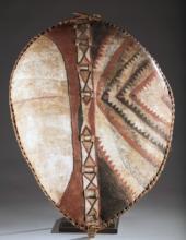 Masai hide shield, 20th c.