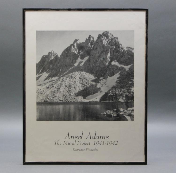 4 items 3 photos by ansel adams adams poster for Ansel adams the mural project posters