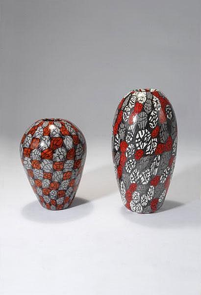 Vittorio Ferro. 'Murrina' vase, c. 2005. H. 22.5