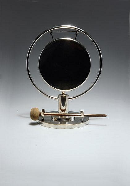 Paul Haustein. Table gong, 1929. H. 36 cm;