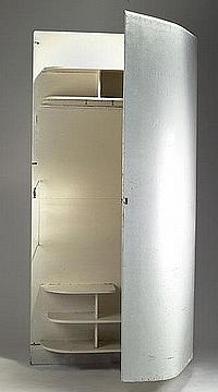 Alvar Aalto. Wardrobe 'Paimio', designed in 1928.