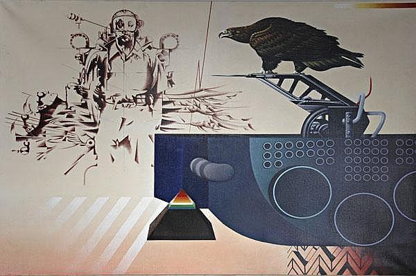 Sergio Sarri (Turin 1938). 'L'istinto della caccia', 1982.
