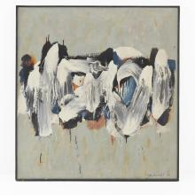 WALTER LOTHAR BRENDEL (1923 LUDWIGSHAFEN - 2013 PRIEN/CHIEMSEE), UNTITLED (ABSTRACT COMPOSITION), 1962