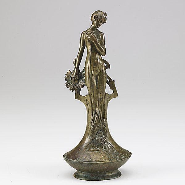 CHARLES KORSCHANN (French, 1872-1943); Art Nouveau