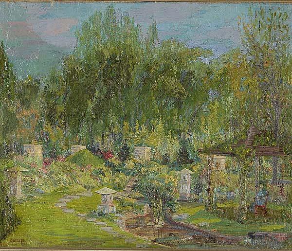 CHARLES BIESEL (American, 1865-1945) Untitled,