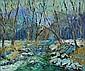Don F. Kaiser (American, b. 1958) Creek near