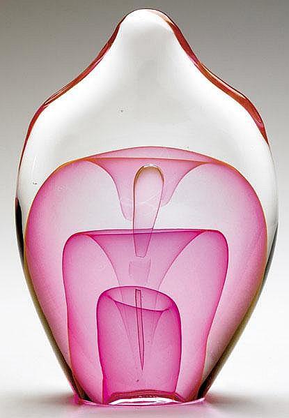 DOMINICK LABINO Fine and early glass sculpture