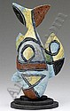MICHAEL LUCERO Hand-built, carved, and glazed, Michael Lucero, Click for value