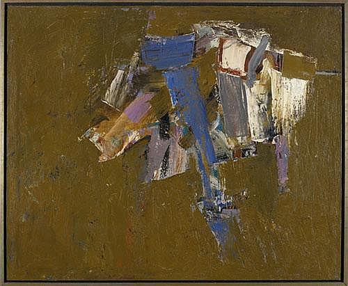 John Saccaro (American, 1913-1981) Fing's Ain't,