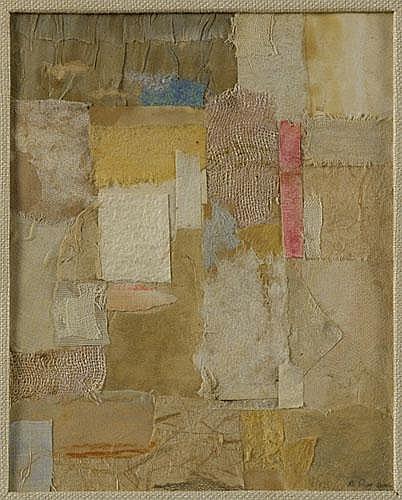 Anne Ryan (American, 1889-1954) Untitled, 1950's;