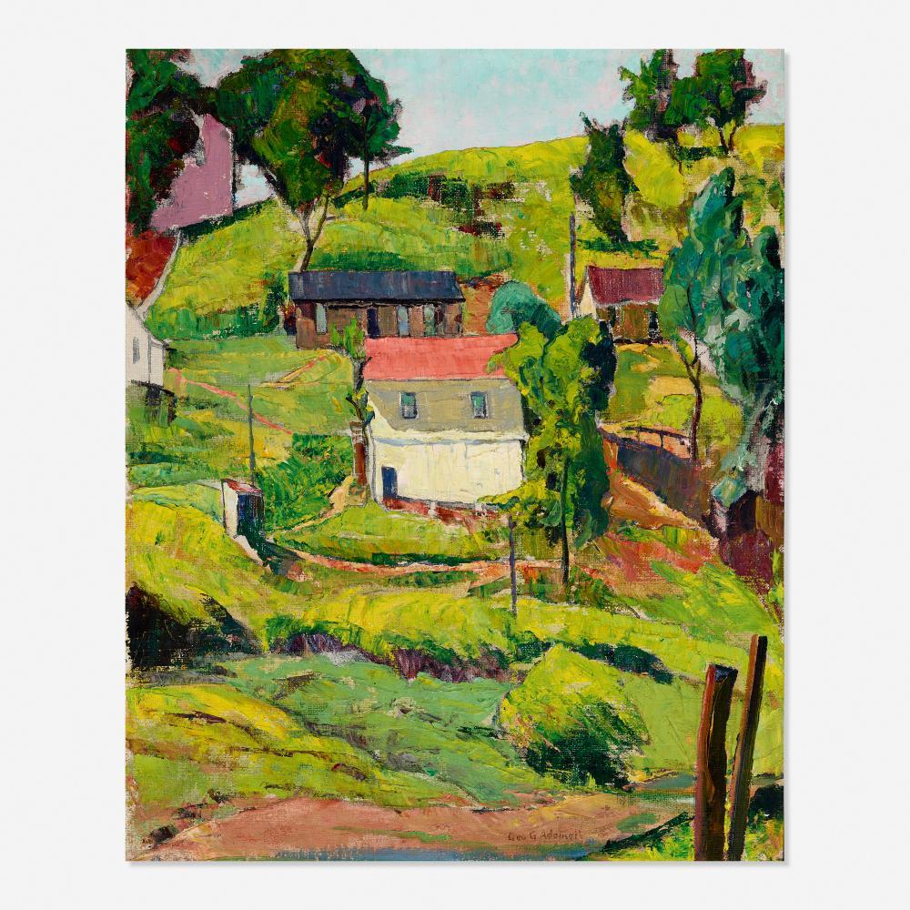 George Gustav Adomeit, West Virginia Hill Side
