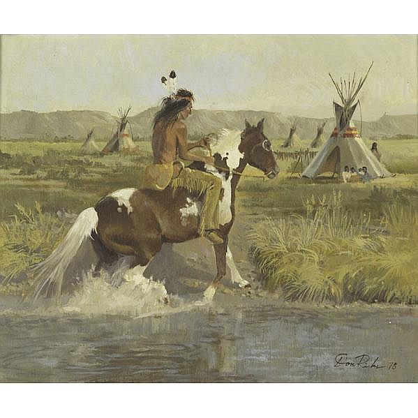 Donald Ricks Artwork For Sale At Online Auction Donald