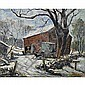 William Fisher (American, 1891-1985) Untitled; Oil, William Fisher, Click for value