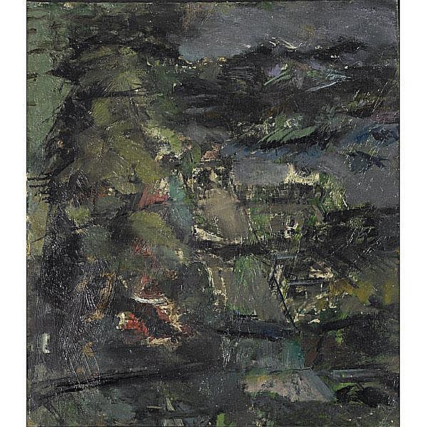 Piero Ruggeri (Italian, 1930-2009) L'Edicola,