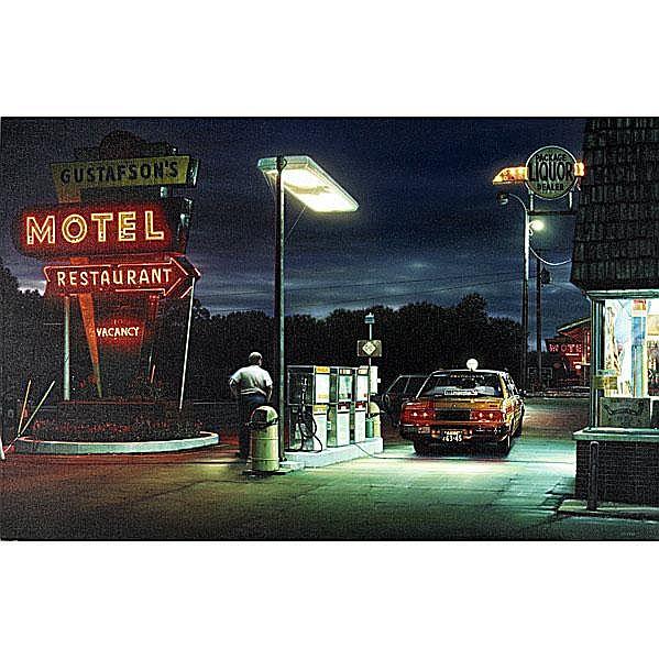Robert Gniewek (American, b. 1951) Gas, 1990; Oil