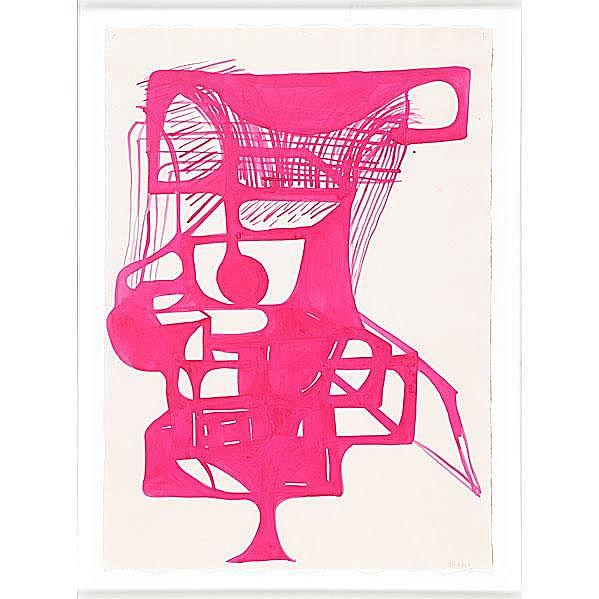 Joanne Greenbaum (American, b. 1953) Untitled,