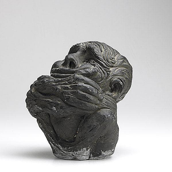 JAMES KEARNS; Two artworks: Untitled (Seated