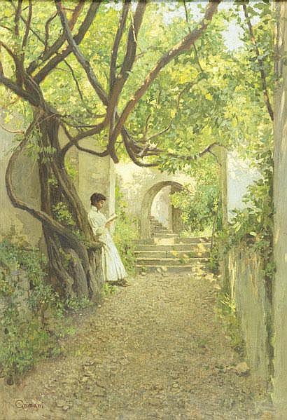 GUIDO GRIMANI (Italian, 1871-1933); Oil on canvas