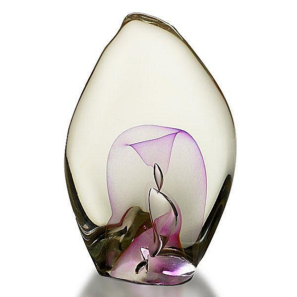 DOMINICK LABINO; Early glass sculpture, Emergence