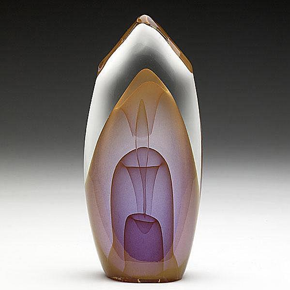 DOMINICK LABINO; Glass sculpture, Emergence