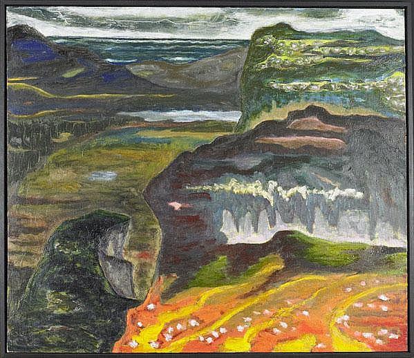 Gregory Amenoff (American, b. 1948) Range, 1999;