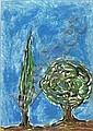 Italo Scanga (American, b. 1932) Four works of, Italo Scanga, Click for value