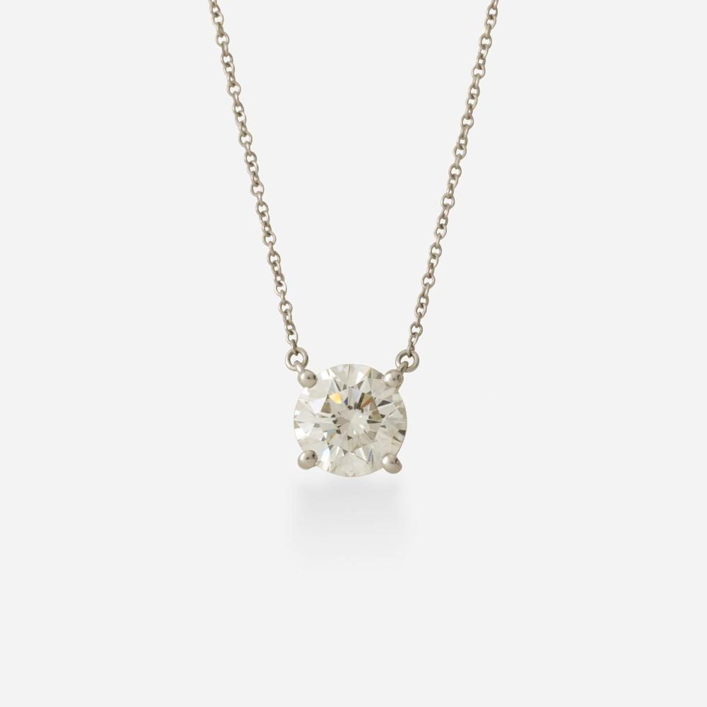 Tiffany & Co., Diamond pendant necklace