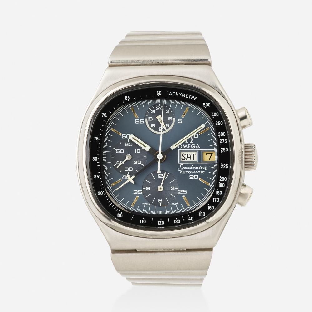 Omega, 'Speedmaster TV' chronograph wristwatch, Ref. 176.0014