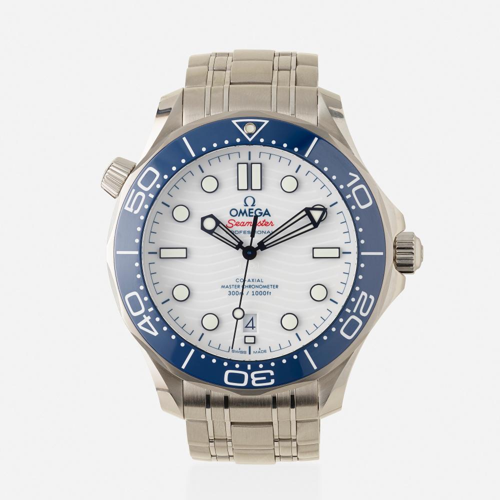 Omega, 'Seamaster Diver 300M Tokyo 2020' wristwatch, Ref. 522.30.42.20.04.001