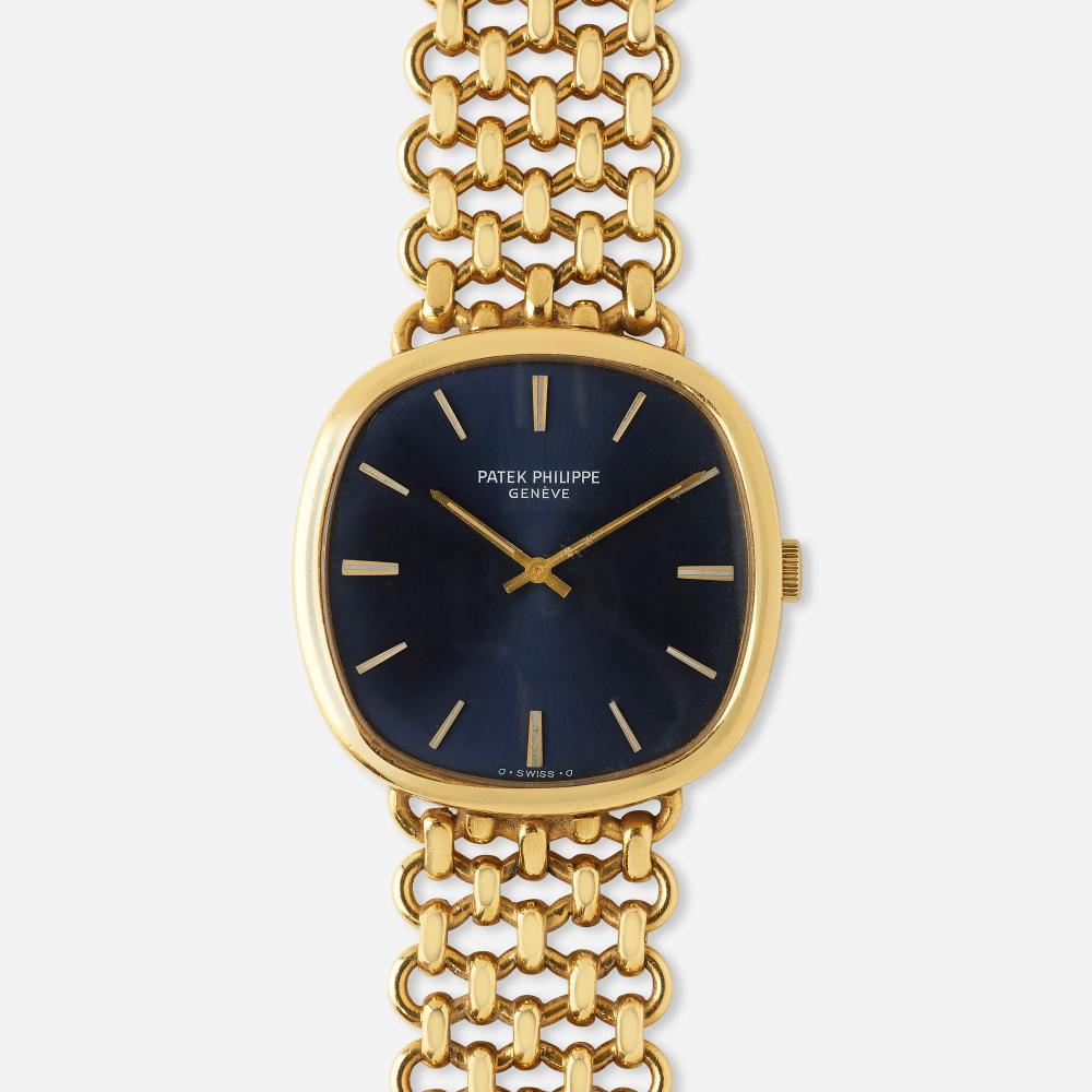 Patek Philippe, 'Ellipse' gold wristwatch, Ref. 3844/2