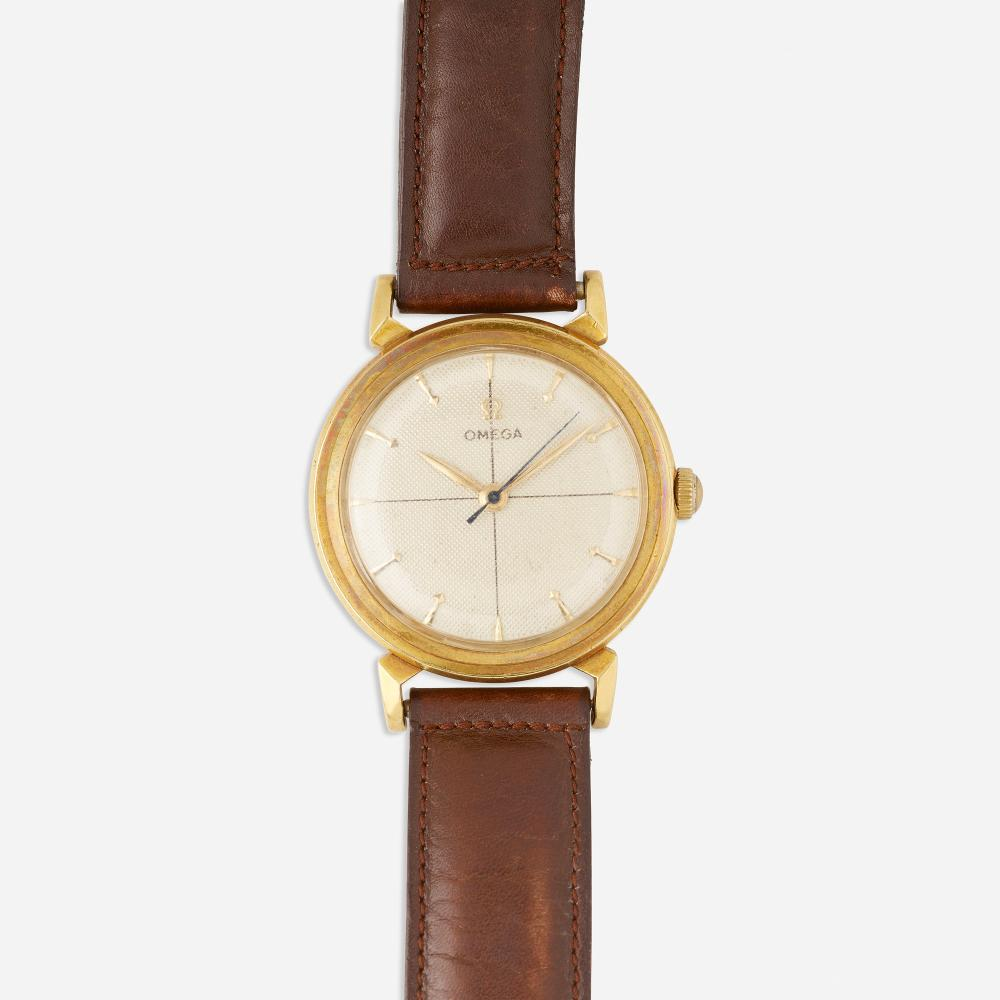 Omega, Gold wristwatch, Ref. 2678
