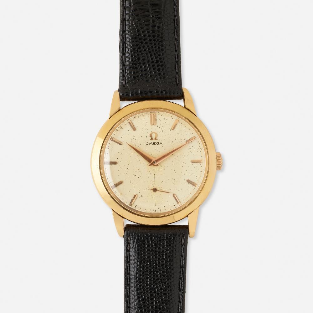 Omega, Gold wristwatch, Ref. 2684