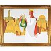 MOSHE PROPPES (Israeli, 1922-1985), Moshe Proppes, Click for value