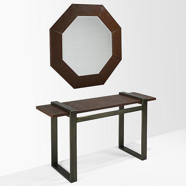 KARL SPRINGER; KARL SPRINGER INC; Console table