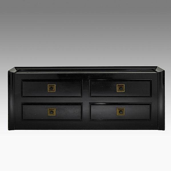 JAMES MONT; JAMES MONT DESIGNS; Four-drawer