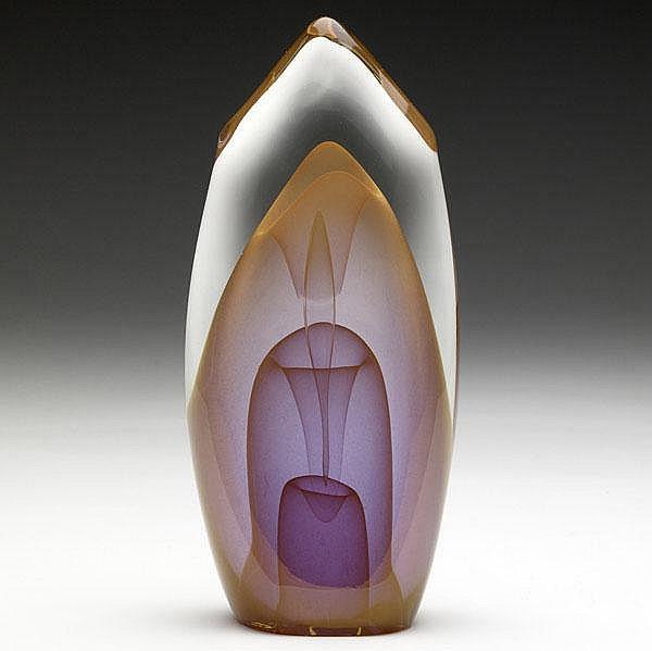 DOMINICK LABINO Fine glass sculpture from the