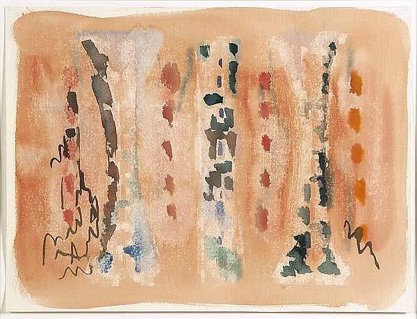 Porfirio DiDonna (American, 1942-1986) Untitled;