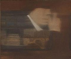 Bert de Beul (Belgian, b. 1961) o.T., 1999; Oil on