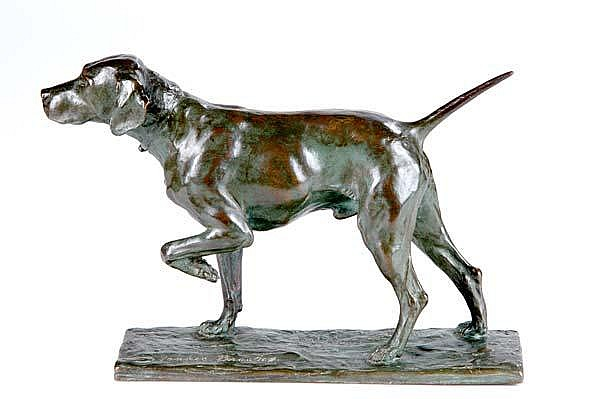 Bryant Percy Baker (American, 1881-1971) Yankee Brooks, 1926; Bronze; Signed, dated