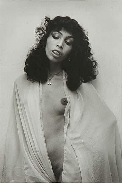 Andre Gelpke (German, b. 1947) Yvonne, 1978; Gelatin silver print; Signed, dated, titled and inscribed; 15 1/4