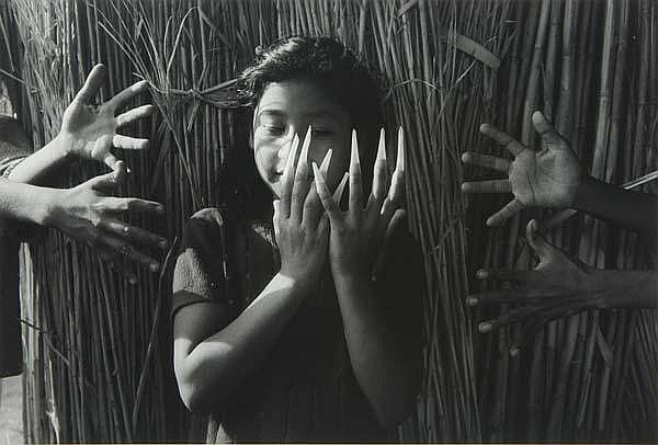 Graciela Iturbide (Mexican, b. 1942) Three works of art: Juego de Manos, Juchitan, Oaxaca, 1988; Gelatin silver print; Signed, dated and titled; 16