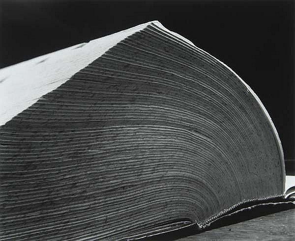 Abelardo Morell (American, b. 1948) Dictionary, 1994; Gelatin silver print; Signed, dated and titled; 19 7/8