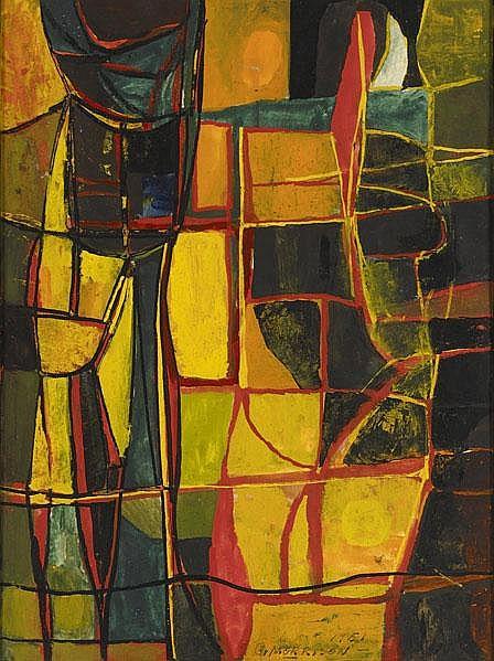 George Morrison (American, 1919-2000) Untitled,
