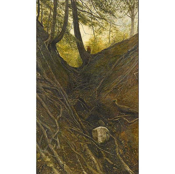 Harry McCormick (American, b. 1942) Untitled; Oil