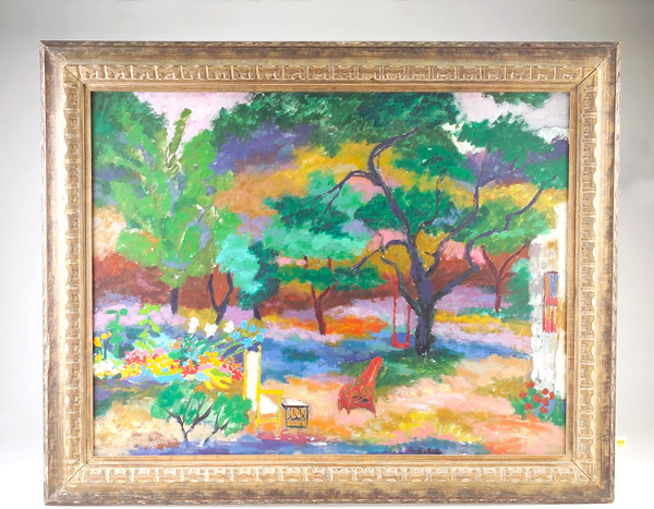 Dody Muller; Mary's Garden; 1957; oil on canvas; 30 x 39 inches; signed lower center recto