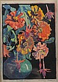 MARGARET PATTERSON Color woodblock print, ''Summer, Margaret Jordan Patterson, Click for value