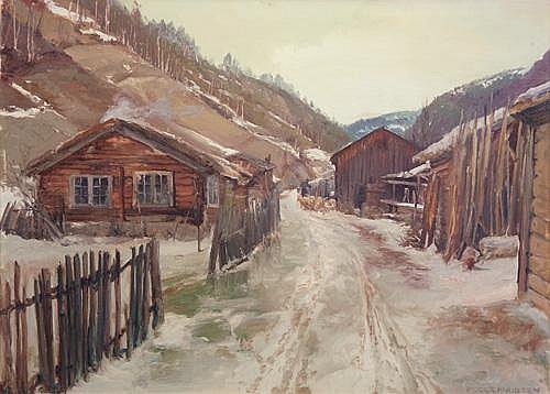 N. F. Schiottz-Jensen (Danish 1855-1941)