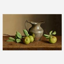 William Acheff, Apples and Pewter